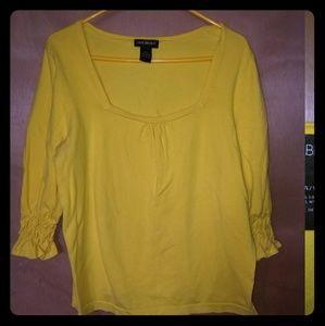 Yellow Lane Bryant blouse